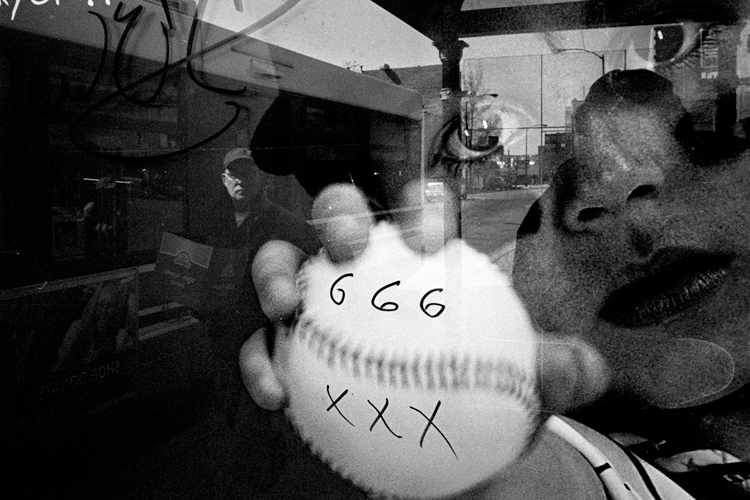 photoblog_chicago_freelance_photographer_michaeljarecki_street_black&white_666_reflection_baseball_strange